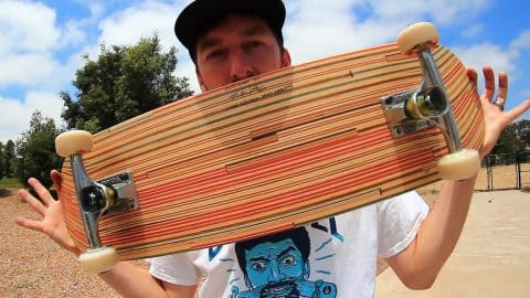 BEAUTIFUL RECYCLED SKATEBOARD! - Braille Skateboarding