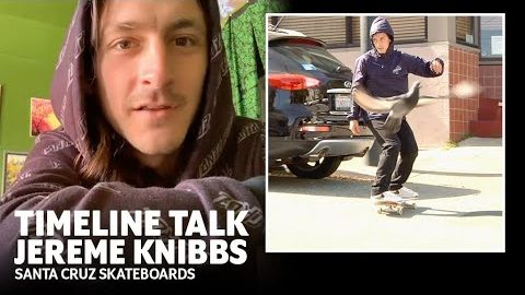 Bed Bugs & Lost Gear- Jereme Knibbs on filming his Welcome To Santa Cruz Skateboards part | Santa Cruz Skateboards