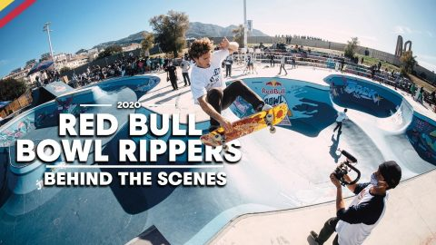 Behind The Chaos  |  Red Bull BOWL RIPPERS 2020 | Red Bull Skateboarding