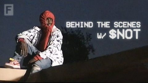 """Behind The Scenes on $not's """"Mean"""" Video Shoot ft. Flo Milli & Cole Bennett 