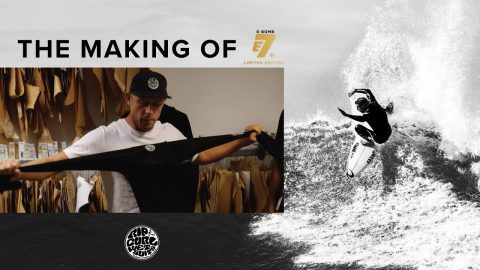 Behind The Scenes – The Making of Rip Curl's E-Bomb E7 Limited Edition Wetsuit | Rip Curl