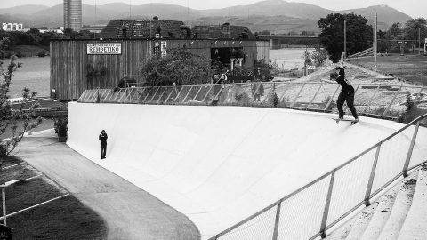 Behind The Sesh - Austrian ski resort. | ANTIZ SKATEBOARDS