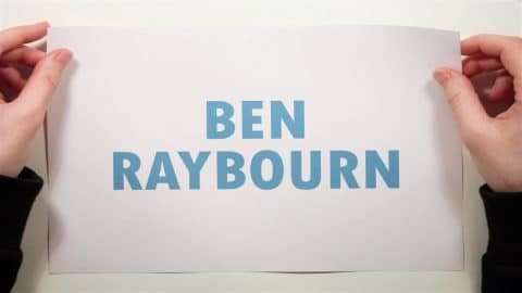 Ben Raybourn Stop Motion Animation For CCS Interview - CCS