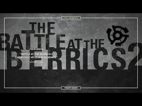 Berrics Top 50: 27 | BATB2 - Chris Cole vs. Dennis Busenitz - The Berrics