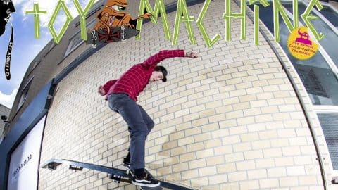 Bert Roeterdink For Toy Machine Skateboards! - Flatspot Magazine