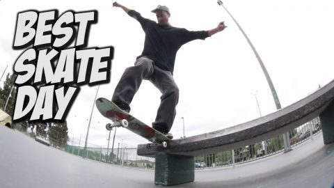 BEST DAY AT THE SKATEPARK !!! - NKA VIDS - | Nka Vids Skateboarding