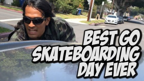 BEST GO SKATE DAY EVER !!! - NKA VIDS - | Nka Vids Skateboarding