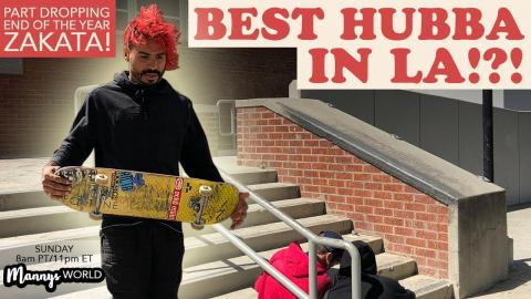 BEST HUBBA IN LA?!?!(SKATEABLE) - MannysWorld