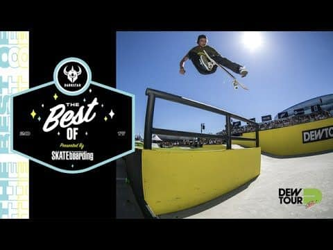 Best of Darkstar TransWorld SKATEboarding Team Challenge Dew Tour Long Beach 2017 - Dew Tour