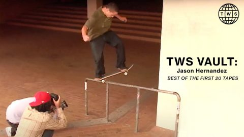 Best Of Jason Hernandez's First 20 Tapes at TWS | TransWorld SKATEboarding