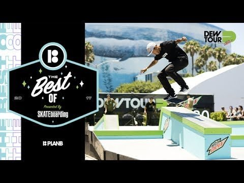 Best of Plan B TransWorld SKATEboarding Team Challenge Dew Tour Long Beach 2017 - Dew Tour