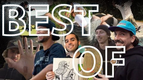 BEST OF SCREAMING VLOGS 1 - 20! | Santa Cruz Skateboards | Santa Cruz Skateboards