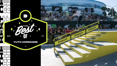 Best of Yuto Horigome | Dew Tour Long Beach 2017 - Dew Tour
