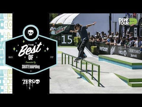 Best of Zero TransWorld SKATEboarding Team Challenge Dew Tour Long Beach 2017 - Dew Tour