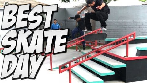 BEST SKATE DAY IN 10 YEARS !!!! - A DAY WITH NKA - - Nka Vids Skateboarding