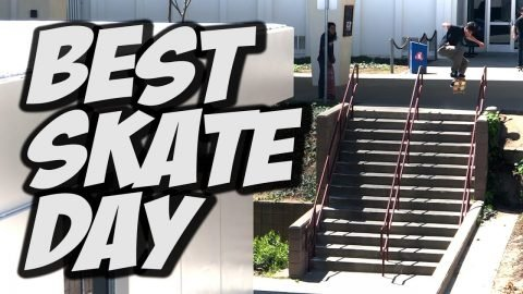 BEST SKATE DAY THIS YEAR !!! - NKA VIDS - | Nka Vids Skateboarding