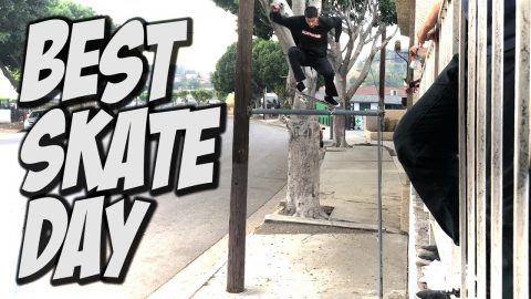 BEST SKATE DAY THIS YEAR !!! - NKA VIDS - - Nka Vids Skateboarding