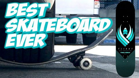 BEST SKATEBOARD EVER ??? POWELL FLIGHT BOARD UNBOXING AND SKATE TEST !!! - NKA VIDS - - Nka Vids Skateboarding