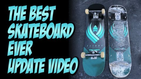 BEST SKATEBOARD EVER UPDATE VIDEO !!! POWELL FLIGHT BOARDS   NKA VIDS - Nka Vids Skateboarding