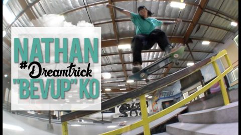 Bevup Just Leveled Up | #DreamTrick | The Berrics