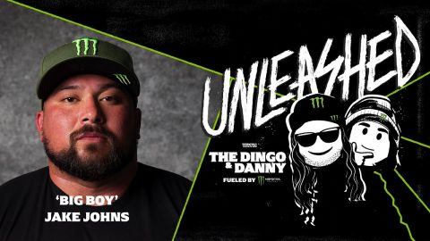 """""""Big Boy"""" 325-Pound Powerlifter - UNLEASHED Podcast E106 - Monster Energy"""