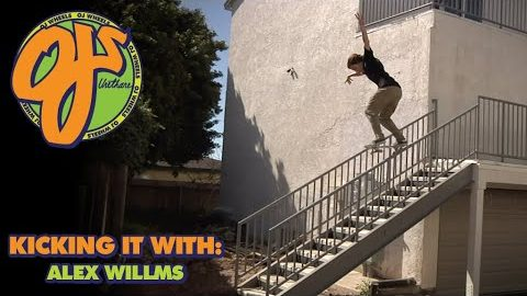 Big Day in the Streets! Kicking it With: Alex Willms | OJ Wheels | OJ Wheels