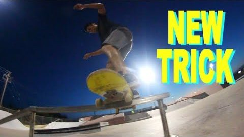 Big Flip Boardslide 270 Out - NEW TRICK - MAJER Crew