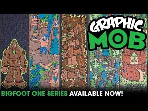 Bigfoot (Artist) Series: Talkin' MOB | Graphic MOB Griptape - Mob Grip