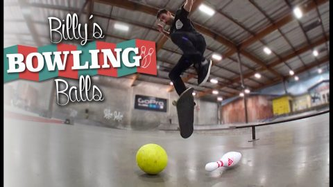 Billy's (Bowling) Balls | The Berrics