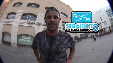 Blake Johnson Straight 8 Flatground Trick Challenge | Ricta Wheels