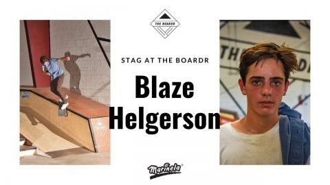 Blaze Helgerson  in Stag at The Boardr Presented by Marinela | TheBoardr