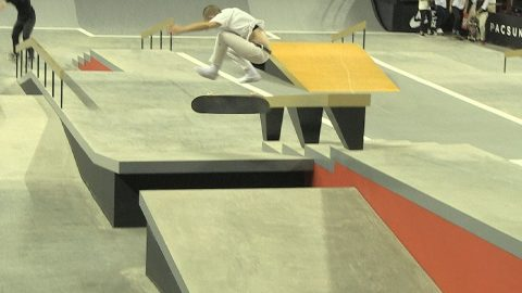 Blog Cam #107 - Street League Women's Practice Day 1 - GirlsSkateNetwork
