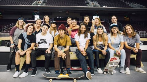 Blog Cam #112 - Street League Women's Practice - GirlsSkateNetwork