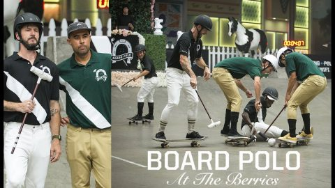 Board Polo At The Berrics | The Full Event | The Berrics