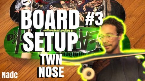 Board setup #3 TWN NOSE NADC neenos essentials | Neen Williams