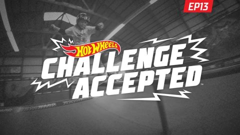 Boardslide The Long Rail - Hot Wheels Challenge Accepted | Woodward Camp
