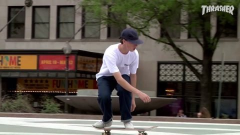 BOBBY DEKEYZER 'Purple' Video Part Converse Cons - MARKSUPREMESTEEZ