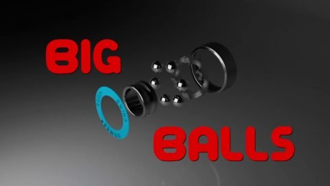 Bones Bearings BIG BALLS - Clip #3 BIG BALLS Animation | Bones Bearings