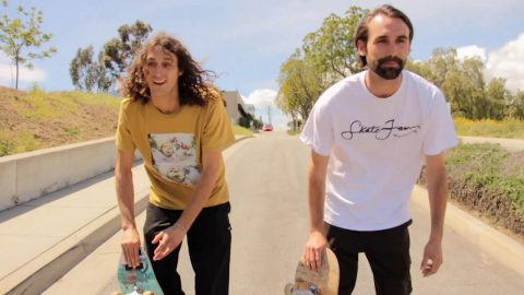 Bones Bearings BIG BALLS - Clip #4 Evan Smith & Chris Blake | Bones Bearings