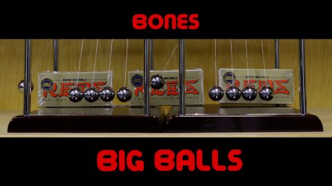 Bones Bearings BIG BALLS - Clip #5 Newton's cradle II | Bones Bearings