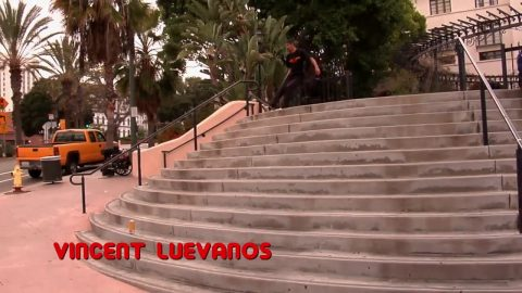 Bones Bearings BIG BALLS - Clip #6 Vincent Luevanos | Bones Bearings