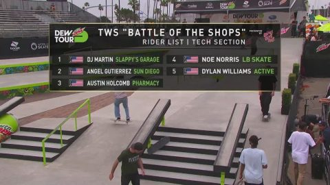 Bones Love Milk Shop Challenge Presented by TransWorld SKATEboarding Live Webcast | 2019 Dew Tour | Dew Tour
