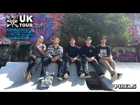 "Bones Wheels ""That's A Beer"" UK Tour 2016 - Pixels"
