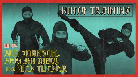 Boo Johnson, Keelan Dadd, & Nick Tucker - Ninja Training | The Berrics