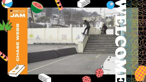 Boost Mobile Switch Jam: How Chase Webb Skates Switch - Dew Tour