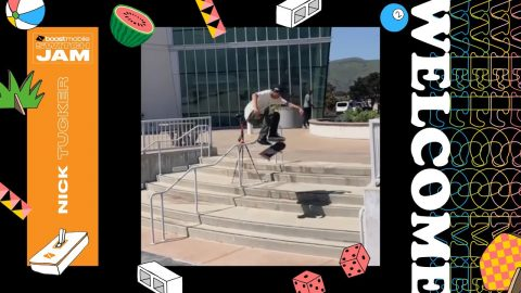 Boost Mobile Switch Jam Welcomes Smooth Operator Nick Tucker - Dew Tour