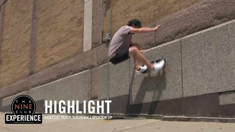 Boston Skate Tourism | Roger Bagley & Kelly Hart | The Nine Club Highlights
