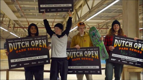 Bowl Battle Eindhoven - Dutch Open Park series 2019 | On The Roll Magazine