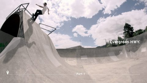 Brad McClain | Evergreen Highway: Part 1 - The Berrics
