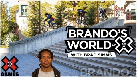 Brad Simms: Have Bike, Will Travel | X GAMES PODCAST | X Games